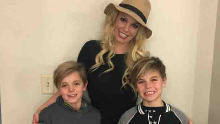Britney Spears and kids