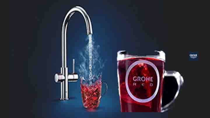 GROHE Red New Duo Kokend water kraan